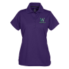 View Image 1 of 3 of Dry-Mesh Hi-Performance Polo - Ladies' - Full Colour