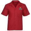 Stain Resist Poplin Camp Shirt - Men's