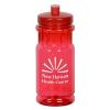 View Image 1 of 3 of Shoreline Water Bottle - 20 oz. - Translucent