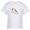 View Image 1 of 3 of Rabbit Skins Jersey T-Shirt - Toddler - White