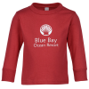 View Image 1 of 5 of Rabbit Skins Jersey Long Sleeve T-Shirt - Toddler - Colours