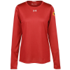 View Image 1 of 3 of Under Armour LS 2.0 Locker Tee - Ladies' - Full Colour