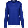 View Image 1 of 3 of Under Armour LS 2.0 Locker Tee - Ladies' - Embroidered