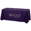 Closed-Back Poly/Cotton Table Throw - 6'