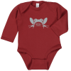 View Image 1 of 2 of Rabbit Skins Long Sleeve Onesie - Colours