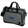 """View Image 1 of 4 of Graphite 15"""" Computer Briefcase Bag - Embroidered"""