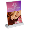 """View Image 1 of 3 of Breeze Tabletop Retractable Banner - 8"""""""