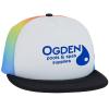 View Image 1 of 2 of Rainbow Trucker Hat