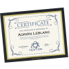 """View Image 1 of 3 of Mat Certificate Frame - 8-1/2"""" x 11"""""""