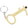 View Image 1 of 5 of Touchless Bottle Opener with Stylus Keychain