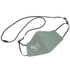 View Image 1 of 4 of Comfy 2-Ply Face Mask with Lanyard