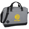 """View Image 1 of 2 of Graphite Dome 15"""" Laptop Brief Bag"""