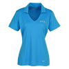 View Image 1 of 3 of Nike Dri-Fit Vertical Mesh Polo - Ladies'