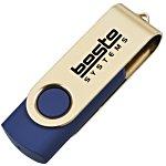 USB Swing Drive - Gold - 8GB