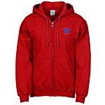 Gildan 50/50 Full-Zip Hooded Sweatshirt - Embroidered