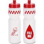 Sport Bottle with Push Pull Lid - 28 oz. - Fill Me