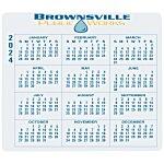 Removable Laptop Calendar - 3-1/4