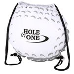 Game Time! Golf Ball Drawstring Backpack - Overstock