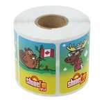 Super Kid Sticker Roll - Canadian Fun