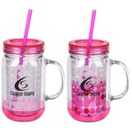Colour Changing Mason Jar - 16 oz.