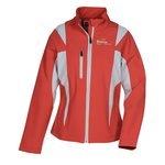 Icon Colourblock Soft Shell Jacket - Ladies'