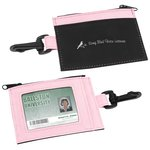 Zip Pouch ID Holder - Closeout - Colours