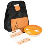 Oval Lunch & Sandwich Tote Set