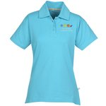 Ringspun Combed Cotton Jersey Polo - Ladies' - 24 hr