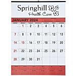 Contractor Memo Calendar