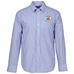 Untucked Striped Poplin Shirt - Men