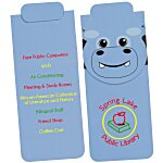 Paws and Claws Magnetic Bookmark - Hippo