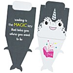 Paws and Claws Magnetic Bookmark - Narwhal