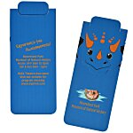 Paws and Claws Magnetic Bookmark - Triceratops