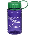 Recycled Breaker Bottle with Tethered Lid - 16 oz.