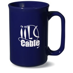 View a larger, more detailed picture of the Tall Ceramic Mug - 12 oz