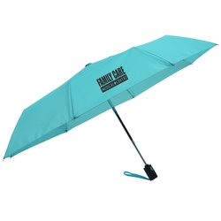 View a larger, more detailed picture of the totes Auto Open Close Umbrella - Solid