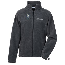 View a larger, more detailed picture of the Columbia Full-Zip Fleece Jacket - Men s