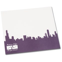 View a larger, more detailed picture of the Notepad Mouse Pad - Cityscape