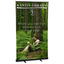 View a larger, more detailed picture of the Economy Retractor Banner Display - 47-1 4