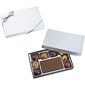 Disappearing Truffles & Chocolate Bar Box 6 oz. Main Image