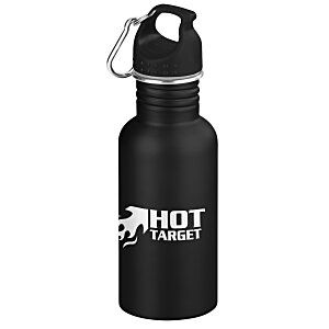 Wide Mouth Matte Stainless Sport Bottle - 24 hr
