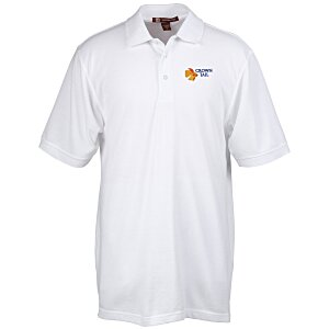 Harriton 9.3 oz. Easy Blend Polo - Men's - 24 hr