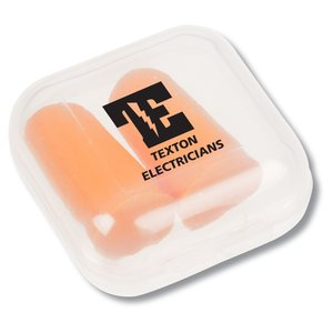Ear Plugs in Case Main Image