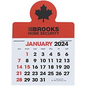 Stick Up Calendar - Maple Leaf