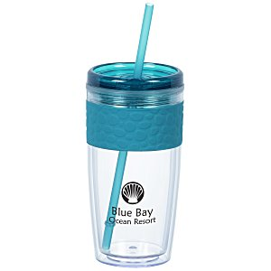 Pebble Tumbler with Straw - 16 oz. Main Image