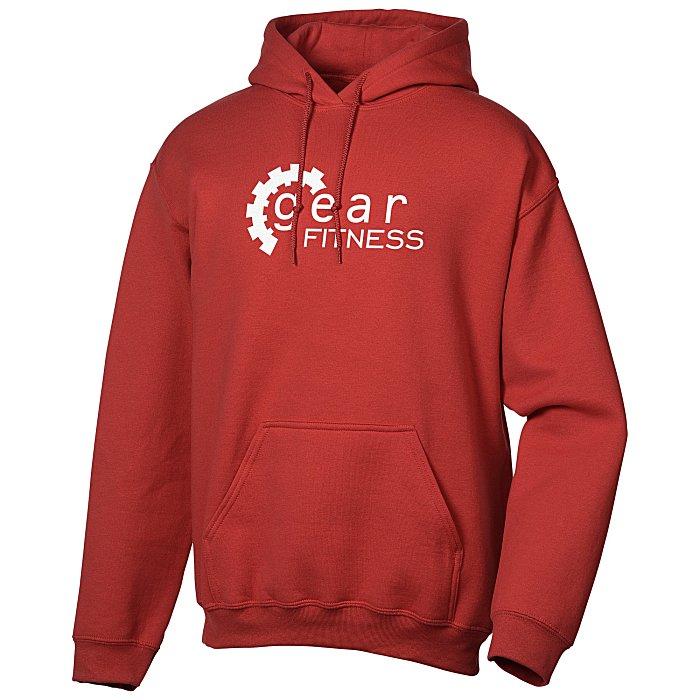 1c356cdf27e1 4imprint.ca  Gildan 50 50 Adult Hooded Sweatshirt - Screen C100814-S
