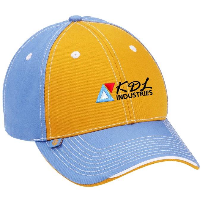 f48a7ee0d2b 4imprint.ca  Prestige Two-Tone Cap C102275