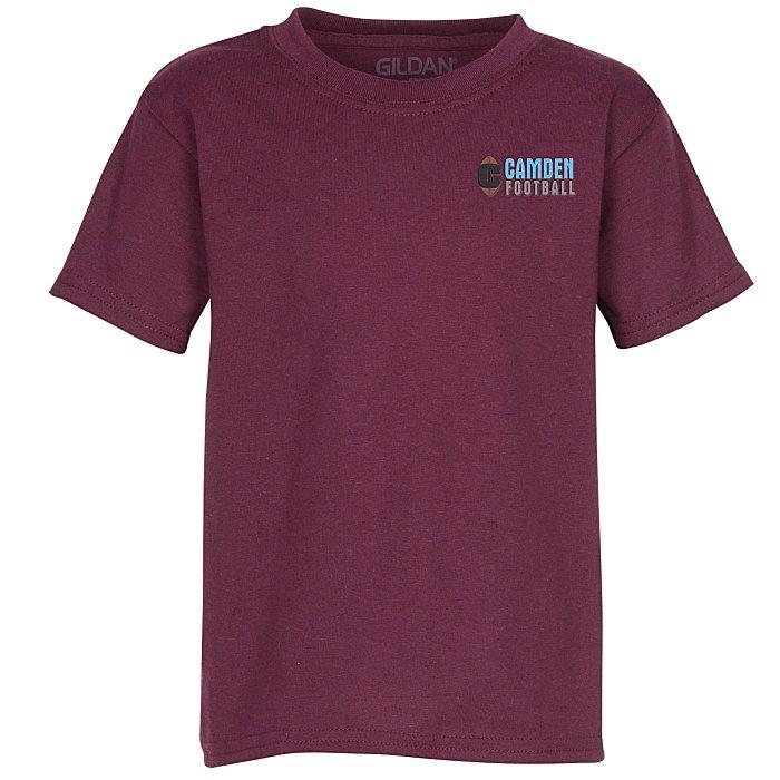 99eca41d8 4imprint.ca: Gildan DryBlend 50/50 T-Shirt - Youth - Embroidered - Colours  C122360-Y-E-C