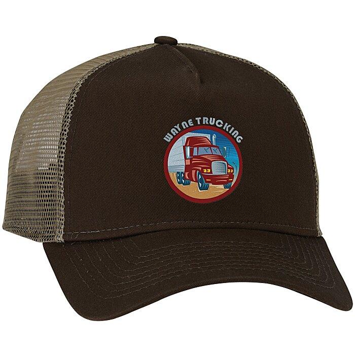 b05cc306f0f7bf 4imprint.ca: New Era Snapback Trucker Cap C129292