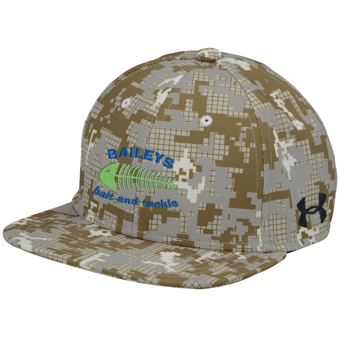 93484bd1519 4imprint.ca  Under Armour Flat Bill Cap - Digital Camo - Embroidered  C134976-CAMO-E